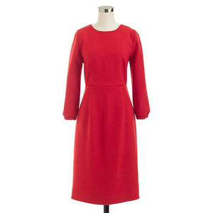 J.Crew Collection Italian Wool Dress